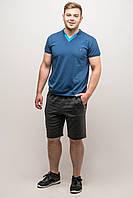 """Мужские шорты """"Энджи"""" р. 46-56 темно-серый, фото 1"""