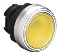 Механизм желтой кнопки с подсветкой без фиксации  Lovato Electric  LPC BL105