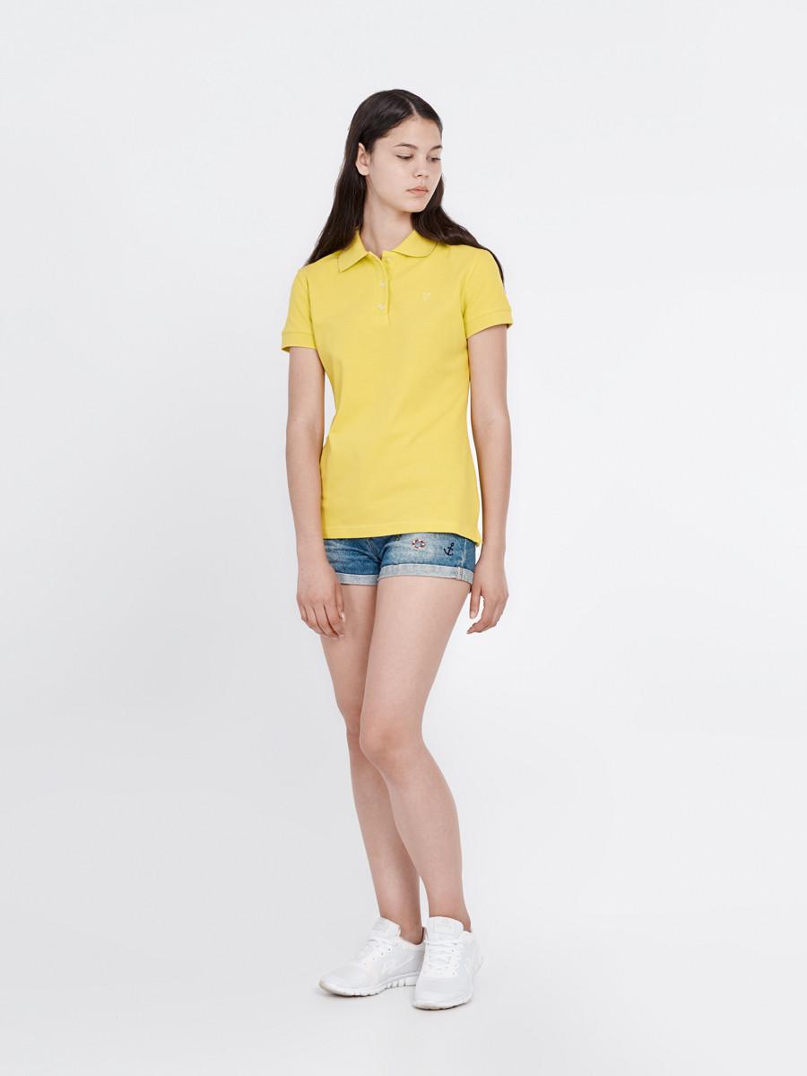 f5bac60a40e Футболка женская поло желтая ACID Urban Planet (футболки