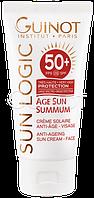 Солнцезащитный крем Для Лица Spf50+ Age Sun Summum Anti-Ageing Sun Cream Face Guinot, тестер