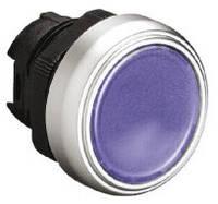Механизм синей кнопки с подсветкой без фиксации  Lovato Electric  LPC BL106