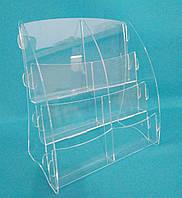 Буклетница  А4 формата вертикальная, фото 1