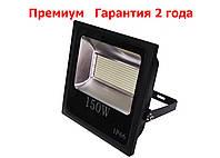 Светодиодный прожектор LED 150W Slim премиум SMD черн, фото 1