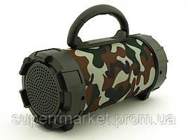 F18 Super Bass 5W boombox, портативная колонка c Bluetooth FM MP3, камуфляжная, фото 3