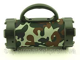 F18 Super Bass 5W boombox, портативная колонка c Bluetooth FM MP3, камуфляжная, фото 2