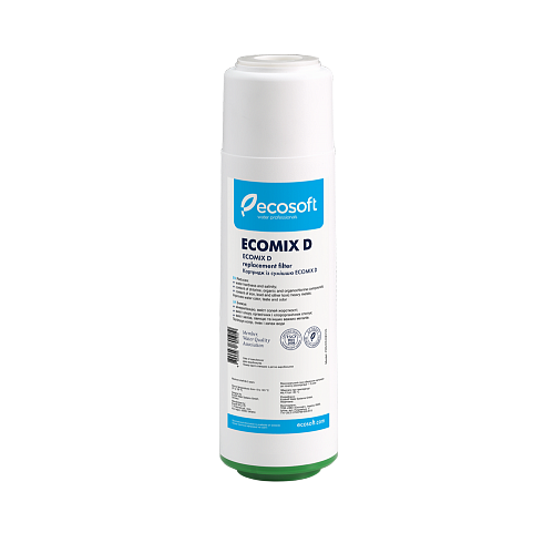 "Картридж с материалом EcomixD Ecosoft 2,5""x10"""