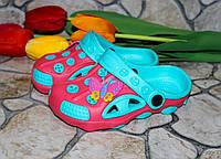 Кроксы детские, для девочки Шалунишка, фото 1