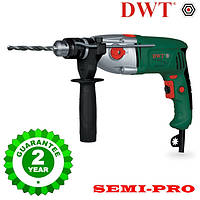 Дрель с ударом DWT SBM-1050 T, 1050 Вт полупрофесионал, гарантия 2 года.
