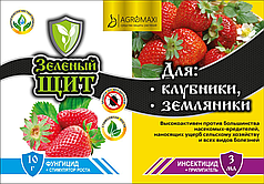 Инсектицид+Фунгицид Для Клубники и Земляники 10г+3мл Зеленый щит
