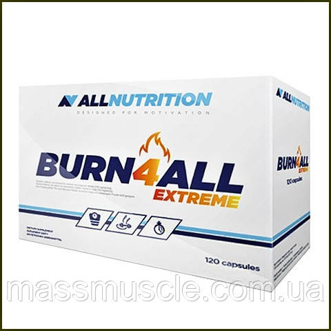 Жиросжигатель AllNutrition Burn4all Extreme 120 caps
