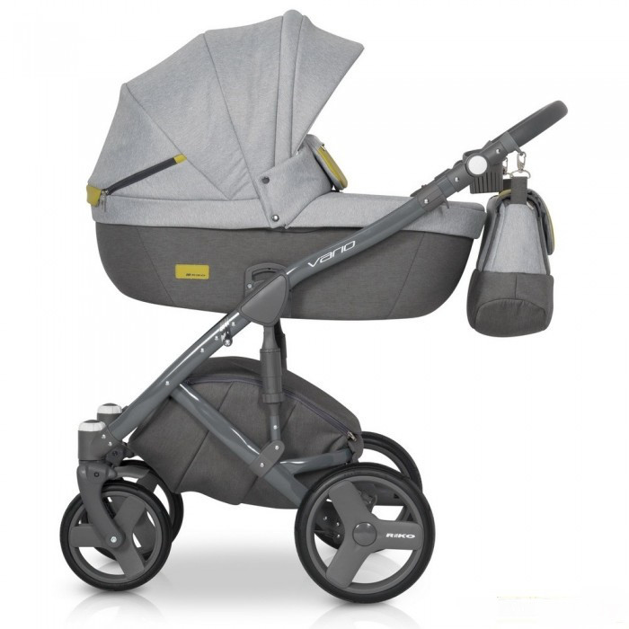 Детская универсальная коляска 2 в 1 Riko Vario 01 Grey Fox