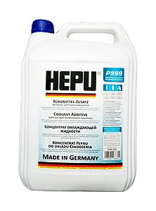 HEPU Антифриз G11 синий, 5л