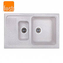 Кухонная гранитная мойка FOSTO 77x49 SGA-210, фото 2
