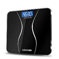 GASONA2ВаннаякомнатаКорпусВесы Стекло Смарт-бытовое электронное цифровое напольное вес