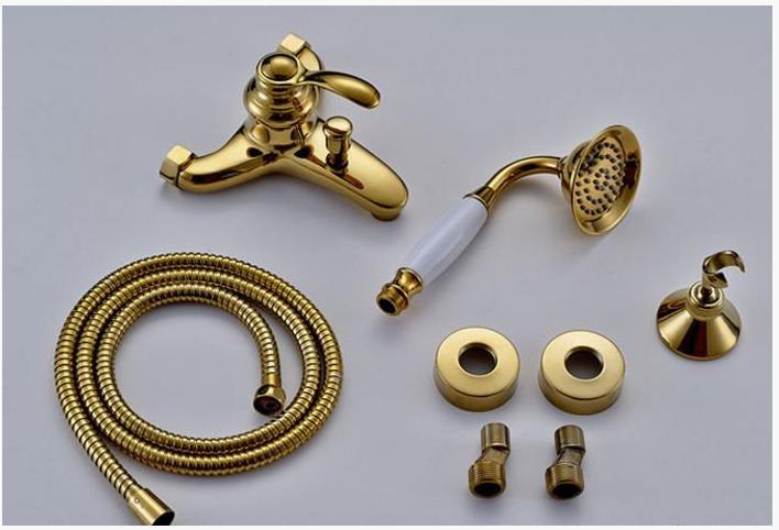 Смеситель для ванной комнаты (золото) 2-029