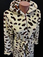 Женские теплые халаты на молнии., фото 1
