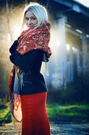 Модные платки и палантины
