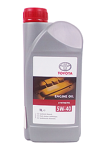 Масло моторное TOYOTA SYNTHETIC 5W-40  (1ЛИТР)
