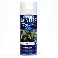 Краска универсальная Painter's Touch, Белая глянцевая, аэрозоль, 0,34кг