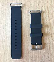 Силиконовый ремешок для детских часов Smart Kids Q60 / Q80 / Q90 / Q100 - Black, фото 1
