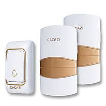 CACAZI Беспроводной дверной звонок AC 220V Водонепроницаемы с 36 кольцами 4 громкости дверных звонков 300 метров Дистанционный Bell 1TopShop, фото 3