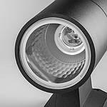 Світильник садово-парковий Feron DH0701 на стіну вгору E27 230V, Сірий/Чорний, фото 4