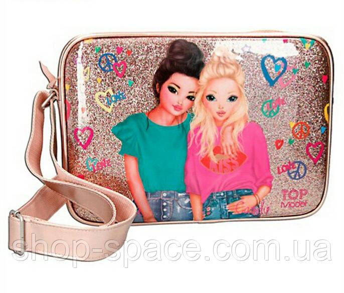 Top Model сумка на плечо Друзья, золото
