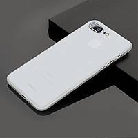 Чехол Apple iPhone 7 plus White матовый прозрачный