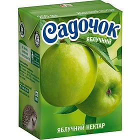 Сок Садочок нектар яблочный 0,2л