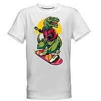 """Детская футболка -раскраска """"Динозаврик"""" для мальчиков"""