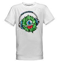 """Детская футболка -раскраска """"Монстрик"""" для мальчиков"""