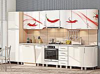 """Кухня """"Хай-тек з кольоровим друком"""" KX-487"""