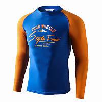 SABOLAY S-5148 Мужской Купальный костюм С длинным рукавом Защита от солнца Гидрокостюм Одежда для серфинга Пляжная одежда