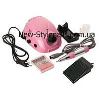 Профессиональный фрезер для маникюра и педикюра DM-212 , 35 тыс.об/мин, мощностью 35 ватт(розовый)