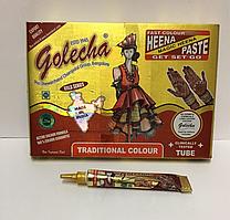 Хна для тату, туба, коричневая, Индия