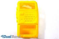 Чехол для рации Baofeng UV-5R черный black желтый