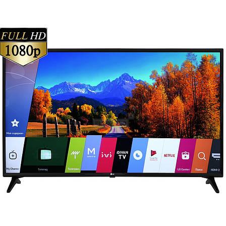 Телевизор LG 49LJ594V (PMI 1000 Гц,Full HD, Smart TV, Wi-Fi, Virtual Surround Plus2.0 10Вт), фото 2