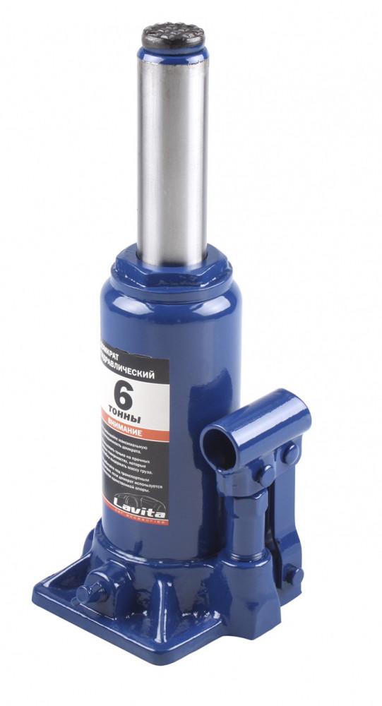 Домкрат гидравлический бутылочный 6 т, 200-385 мм
