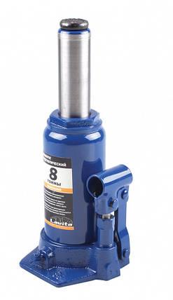 Домкрат гидравлический бутылочный 8 т, 200-385 мм, фото 2
