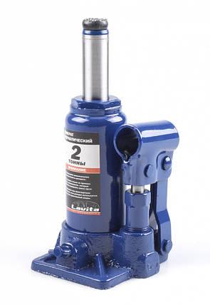 Домкрат гидравлический бутылочный, 2 т, 148-278 мм, фото 2