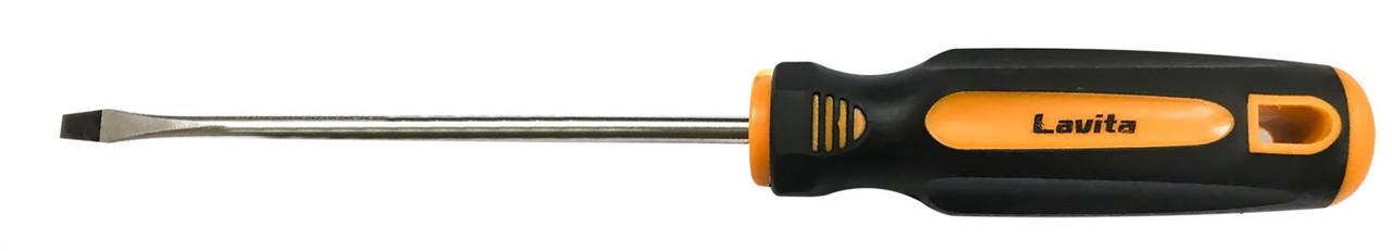 Отвертка шлицевая SL5x100 мм CRV