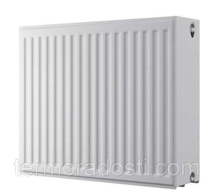 Панельный радиатор Djoul 500х1100 мм. (бок. подкл / тип 33)