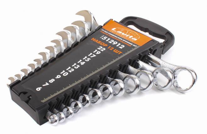 Набор ключей комбинированных на блистере 12 шт., 6-22 мм, фото 2