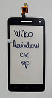Сенсор (тачскрін) для Wiko Rainboworiginal чорний