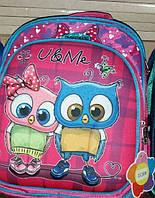 Рюкзак школьный ортопедический для девочки Совы