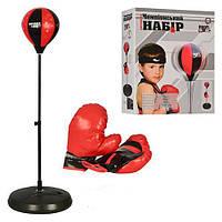 Боксерский набор на стойке с перчатками
