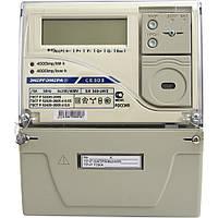 Счётчик многотарифный се 303 s31 543 javz (12), трехфазный, жки с подсветкой, оптический интерфейс, rs485