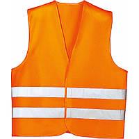 Жилет аварийный, оранжевый, XL