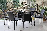Комплект садовой мебели Комфорт 100 из искусственного ротанга GreenGard