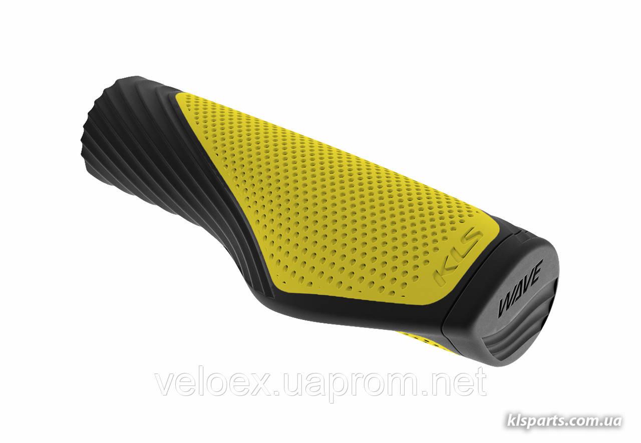Ручки руля KLS Wave желтый